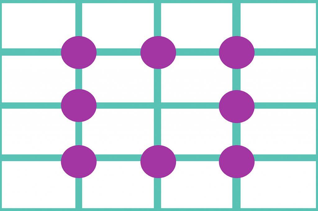 四分割構図/図解イメージ