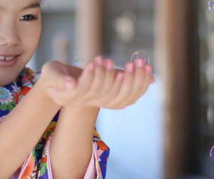 子供の記念写真 注意点
