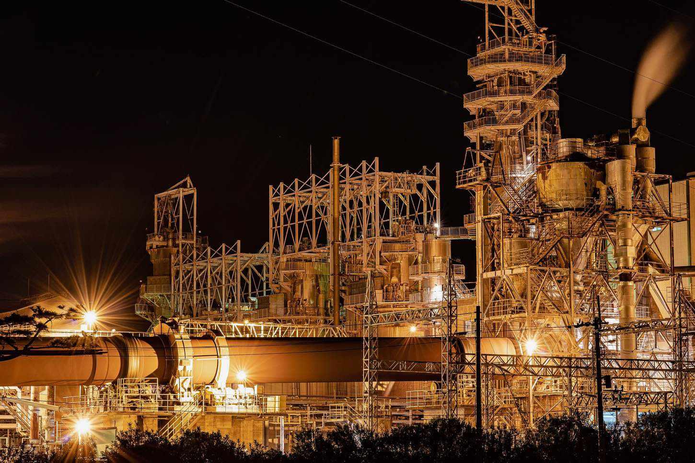 工場夜景紹介 日没時間