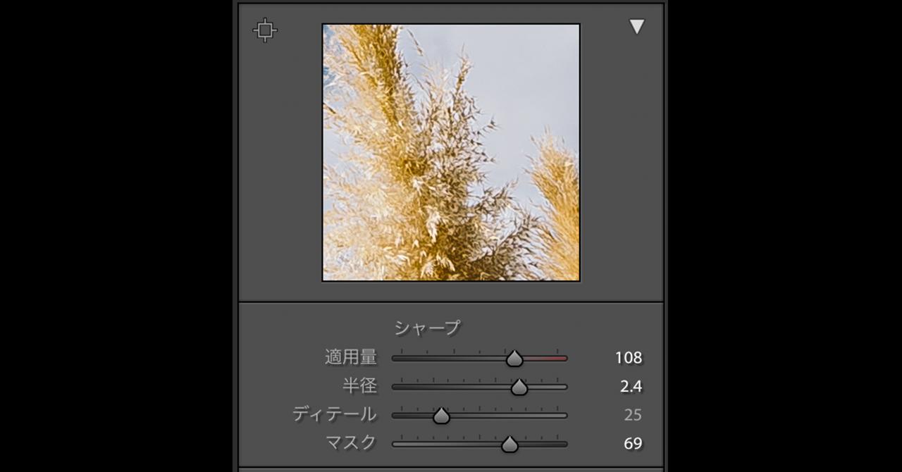 エモいフィルム調加工 植物シャープ