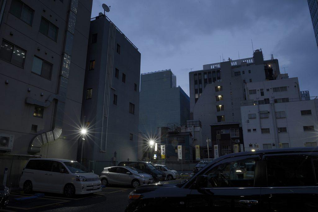 2.0秒 f22 ISO100 東京