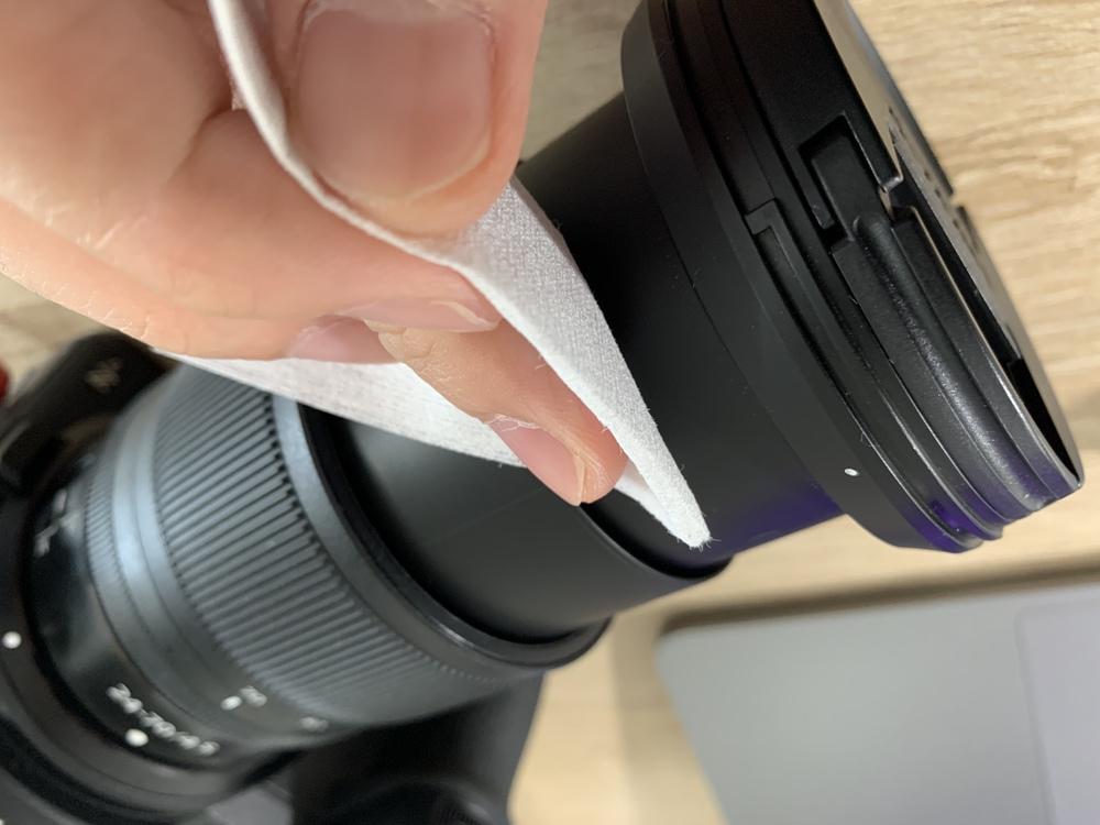 一眼レフセルフメンテナンス方法 レンズの筒内部②