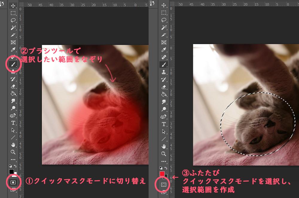 【Photoshop】レタッチ用語 トーンカーブ応用例②